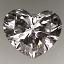Heart Shape Diamond 0.71ct G SI1
