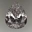 Pear Shape Diamond 1.01ct E VVS2