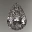 Pear Shape Diamond FS 020 1.00ct