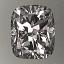 Cushion Cut Diamond 0.90ct F VS1 - FS 170