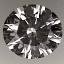 Round Brilliant Cut Diamond 0.60ct E IF