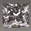 Princess Cut Diamond 0.51ct F VS2