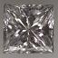 Princess Cut Diamond 0.48ct E VVS2