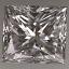 Princess Cut Diamond 0.51ct F VS1