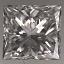 Princess Cut Diamond 0.51ct E VS1