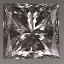 Princess Cut Diamond 0.55ct F VVs2