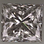 Princess Cut Diamond 0.56ct H VS2