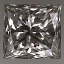 Princess Cut Diamond 0.54ct G SI1