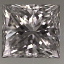 Princess Cut Diamond 0.36ct E VVS2