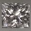 Princess Cut Diamond 0.34ct F VVS2