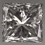 Princess Cut Diamond 0.35ct F VVS2