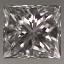 Princess Cut Diamond 0.34ct E VVS2