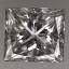 Princess Cut Diamond 0.32ct F VS1