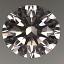 Round Brilliant Cut Diamond 0.52ct D VVS2
