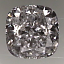 Cushion Cut Diamond 0.88ct D VVS2