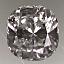 Cushion Cut Diamond 0.91ct E VS1