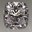 Cushion Cut Diamond 0.82ct E VS2