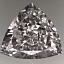 Trilliant Cut Diamond 1.12ct F SI1