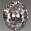 Oval Shape Diamond 0.77ct H VS2