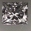 Princess Cut Diamond 0.71ct F SI1