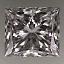 Princess Cut Diamond 1.12ct D VVS2