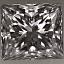 Princess Cut Diamond 0.71ct E VVS1