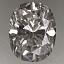 Oval Shape Diamond 0.63ct F SI2