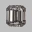 Emerald Cut Diamond 0.25ct E VS1