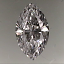 Marquise Cut Diamond 0.54ct D VVS2