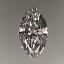 Marquise Cut Diamond 0.26ct G VS1