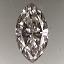 Marquise Cut Diamond 0.29ct I VS2