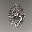 Marquise Cut Diamond 0.35ct G VS2