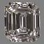 Emerald Cut Diamond 0.36ct D VS2
