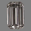 Emerald Cut Diamond 0.40ct E VS1