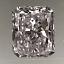 Radiant Cut Diamond 0.40ct E VS1