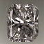 Radiant Cut Diamond 0.50ct G VS2