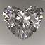Heart Shape Diamond 0.91ct G SI2