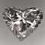 Heart Shape Diamond A 166 1.01ct