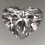 Heart Shape Diamond 0.74ct F SI2 - FS 219