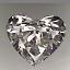 Heart Shape Diamond 1.05ct H SI1