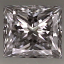 Princess Cut Diamond 0.41ct D VVS1