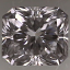 Radiant Cut Diamond 0.54ct D VS1