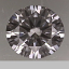 GIA Round Brilliant Cut Diamond 0.24ct D VVS2