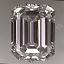 Emerald Cut Diamond 1.30ct F IF