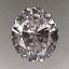 Oval Shape Diamond 0.71ct E VS2