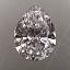 Pear Shape Diamond 0.33ct D VVS1
