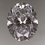 Oval Cut Diamond 0.78ct D VS1
