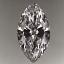 Marquise Cut Diamond 0.75ct D IF