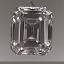 Emerald Cut Diamond 0.60ct E VVS2
