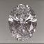 Oval Shape Diamond 0.40ct D IF